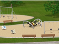 Lafayette Play DC Playground Project - New Playground Equipment Rendering 4