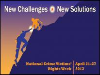Illustration - National Crime Victims' Rights Week